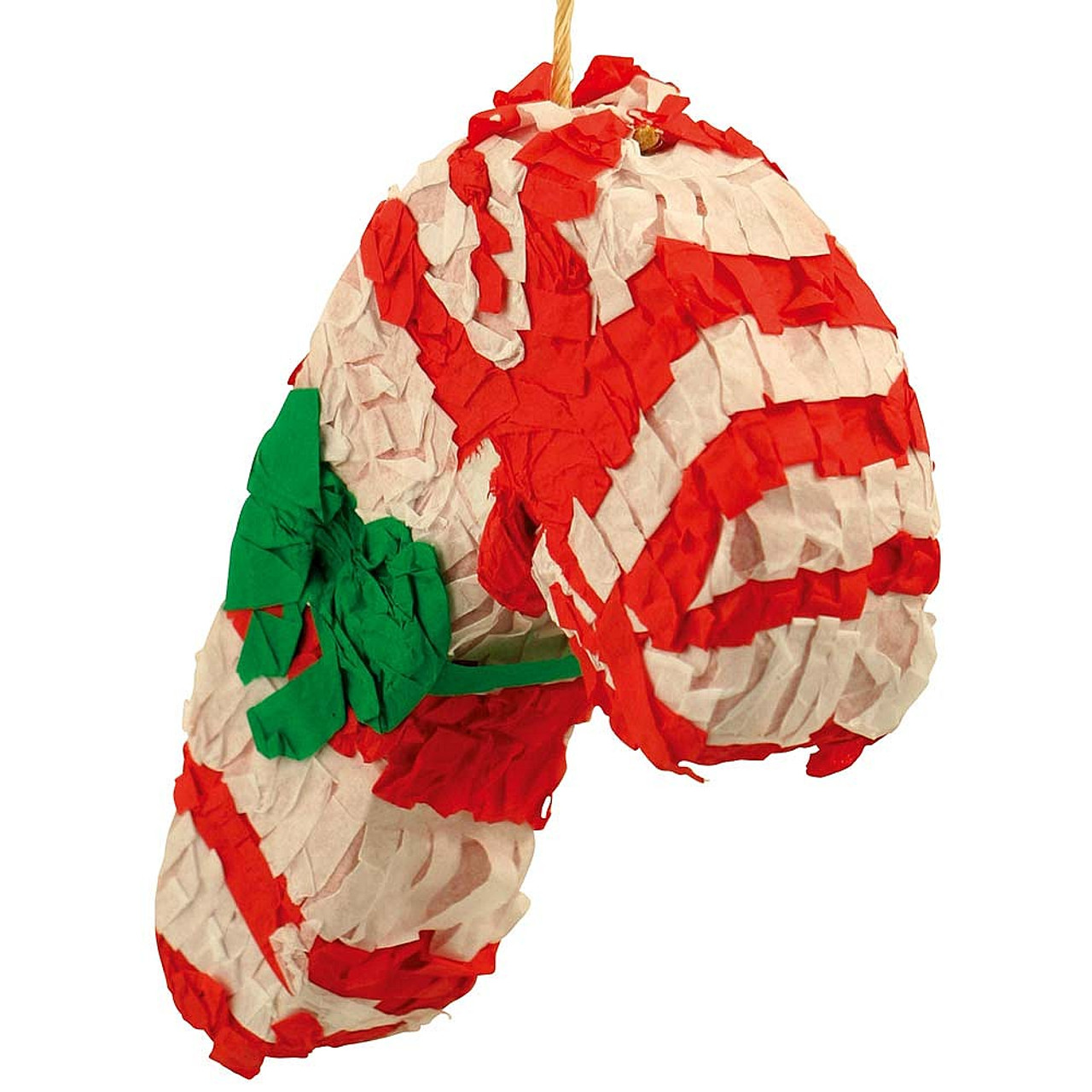 Christmas Pinata.Christmas Candy Cane Pinata Parrot Toy Fill Your Own