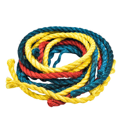 Parrot Essentials Sisal Ropes - Parrot Toy Making Parts - 6 Pack