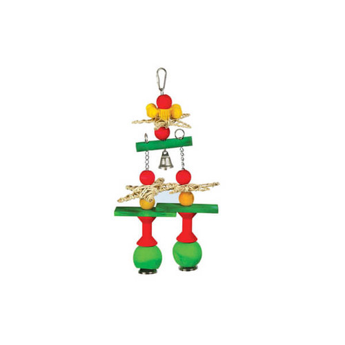 Chiming Bells Stack Parrot Toy - Large