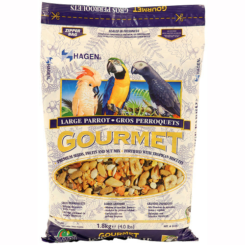 Hagen Gourmet Large Parrot Food Seed Mix - 1.8kg