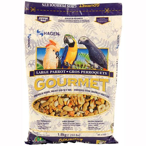 Hagen Gourmet Large Parrot Food Seed Mix - 1.8kg