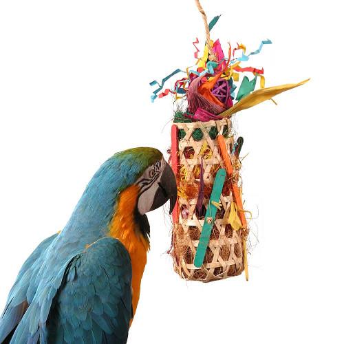 Grand Slam Foraging Pocket Parrot Toy