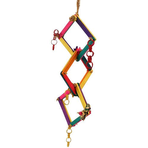 Hoopla Chewable Parrot Toy
