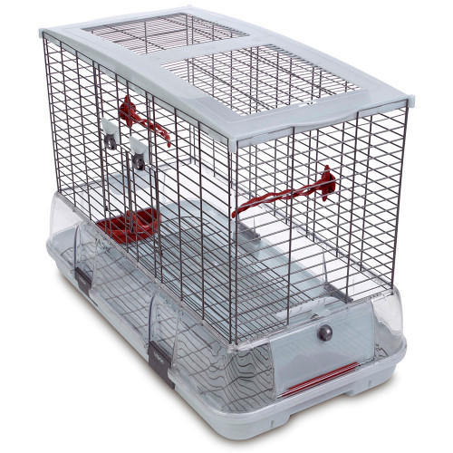 Hagen Vision Large Cage for Small Parrots & Birds - Single Height