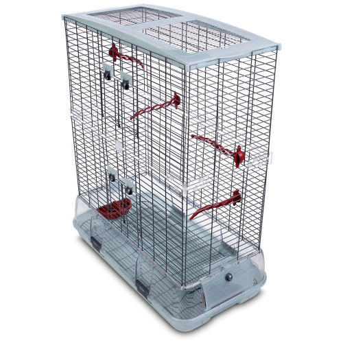 Hagen Vision Large Cage for Small Parrots & Birds - Double Height