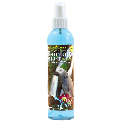 Rainforest Mist for African Greys and Amazons Parrots