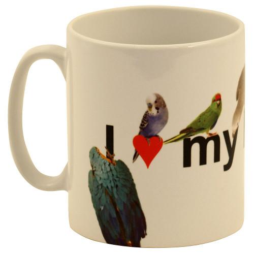 I Love My Parrot Mug