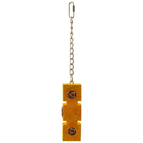 Foraging Block with Treats Parrot Toy - Large