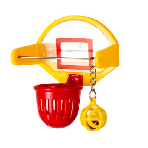 Parrot Essentials Birdie Basketball Activity Parrot Toy