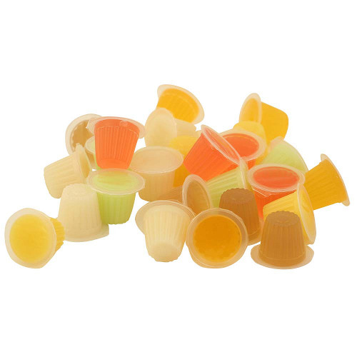 Assorted Fruit Cups - Jelly Parrot Treat - Pack of 30