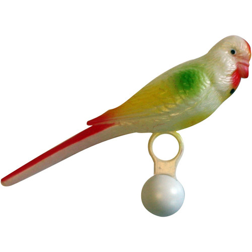 Big Bird Buddy Toy for Budgie, Cockatiels & Small Parrots