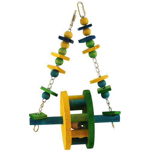 Ferris Wheel Swing Parrot Toy - Large