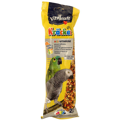Vitakraft Parrot Treat Sticks Multi-Vitamin