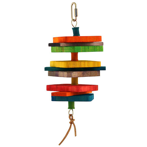 Flap Stack Parrot Toy