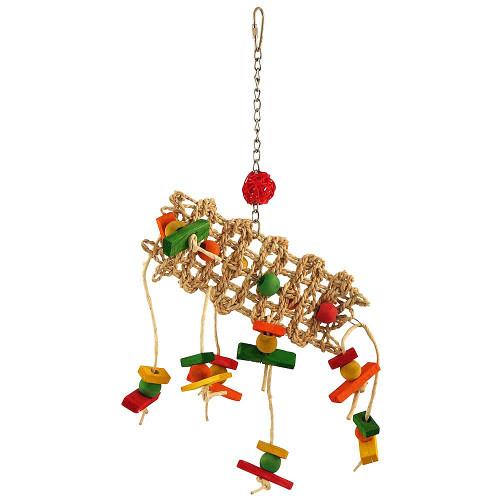 Scatterpillar Parrot Toy