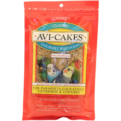 Lafeber Original Avi Cakes for Cockatiels - 230g