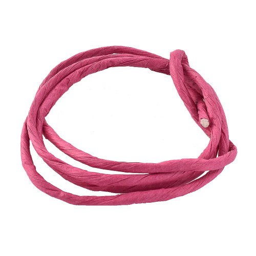 Paper Rope - Fuchsia Parrot Toy Making Part