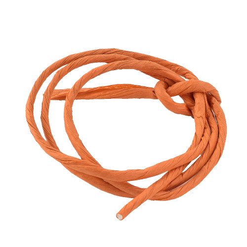 Paper Rope - Orange Parrot Toy Making Part