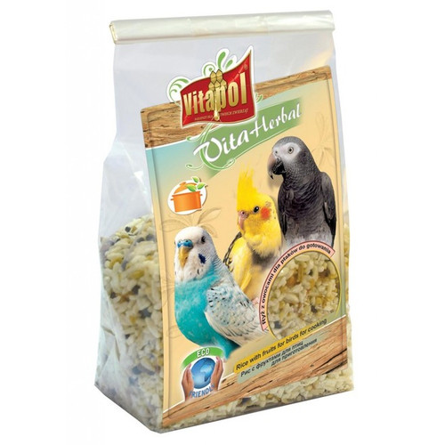 Vitapol Instant Rice & Fruit Treat for Birds and Parrots