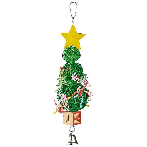 Vine Ball Christmas Tree Parrot Toy
