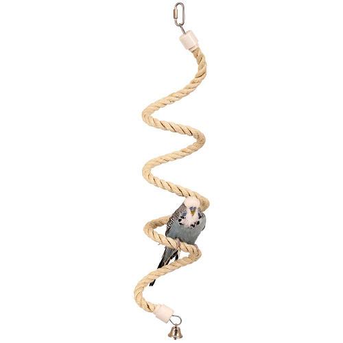Parrot Boing - Sisal Spiral Bouncing Perch - Small