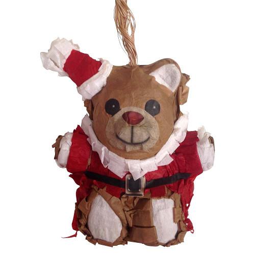 Mini Santa Bear Pinata Christmas Parrot Toy