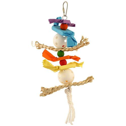 Husker Candy Crunch Parrot Toy - Medium