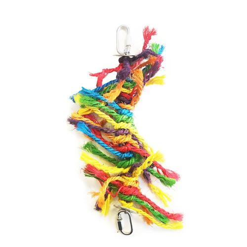 Parrot Essentials Multi Preener Natural Sisal Parrot Toy