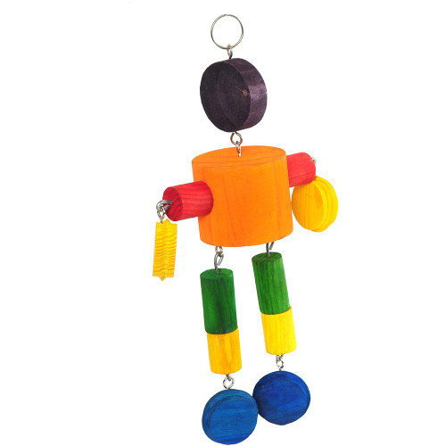 Playtime Multiwood 4 Parrot Toy
