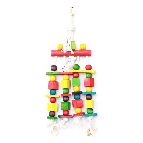 Blocks 'n' Beads Parrot Toy