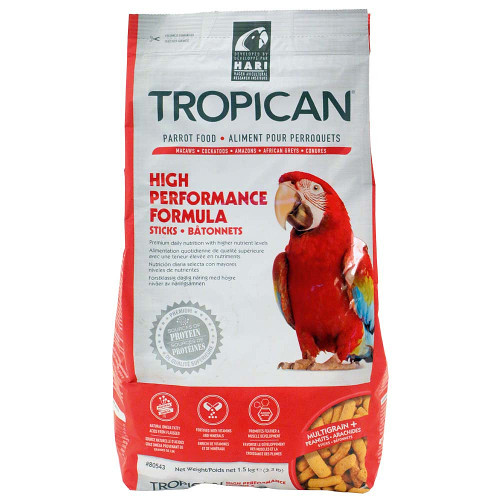Tropican High Performance Sticks Parrot Food