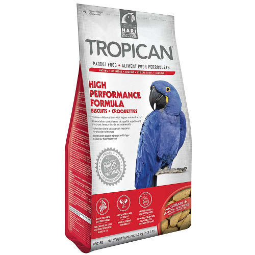 Tropican High Performance Biscuits Parrot Food