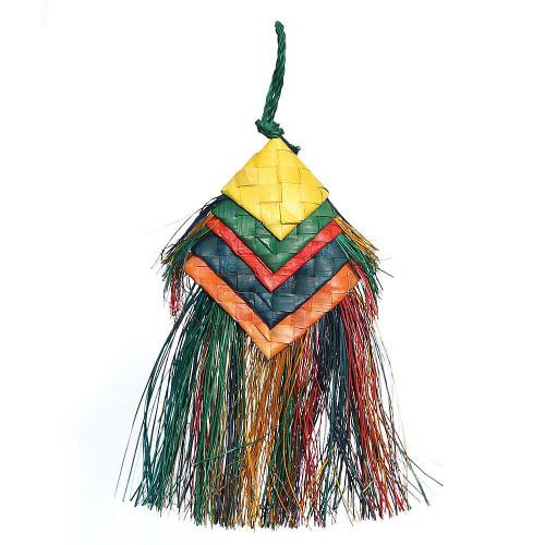 Woven Wonders Bell Preener Parrot Toy