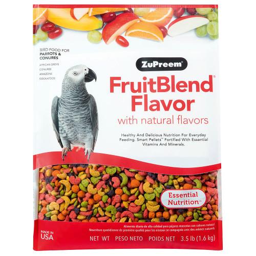 ZuPreem FruitBlend Med/Lrg - Complete Food for Parrots