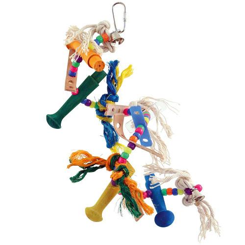 Helter Skelter Spiral Parrot Toy