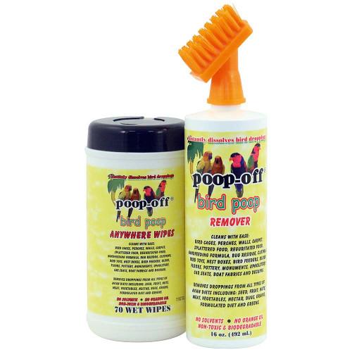 Poop-Off Brush & Wipes