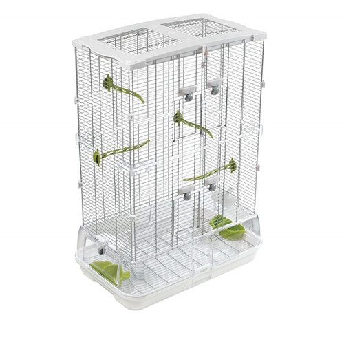 Hagen Vision Medium Cage for Small Parrots & Birds - Double Height
