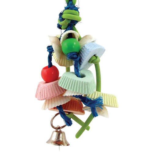 Calcium Crunch Feast Chewable Parrot Toy