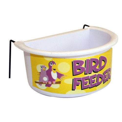 Bird & Parrot Feeder or Water Bowl - Large