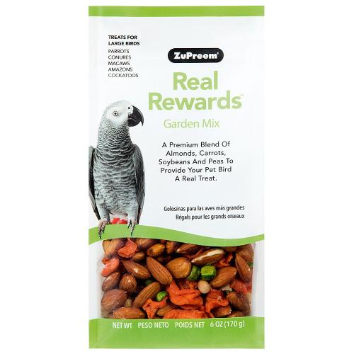 ZuPreem Real Rewards Garden Mix for Large Parrots 6oz