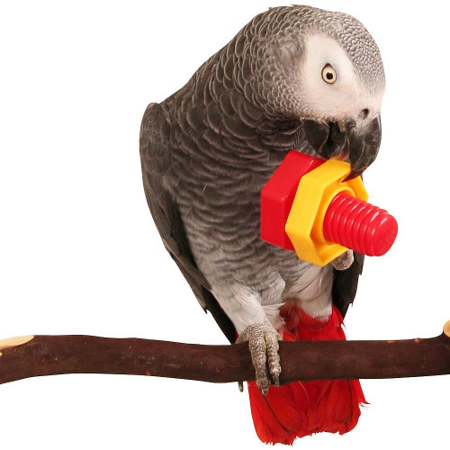 Jumbo Nut & Bolt Puzzle Parrot Toy - Pack of 2
