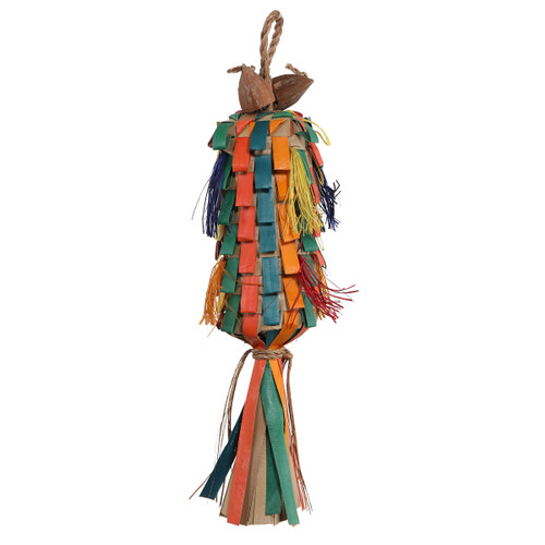 Parrot Essentials Rainbow Pinata Parrot Toy - Medium
