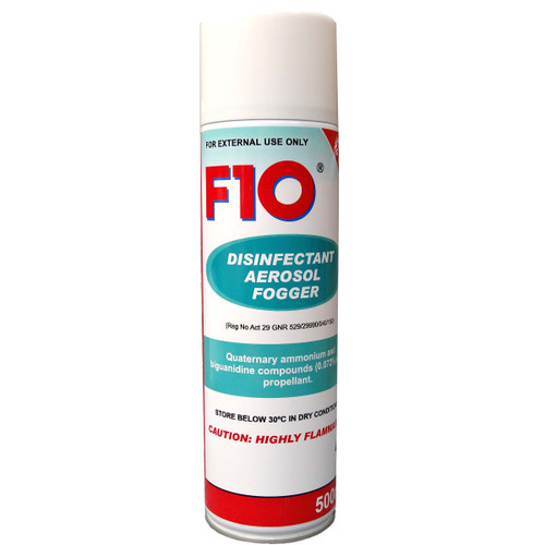 F10 Disinfectant Aerosol Fogger - 500ml