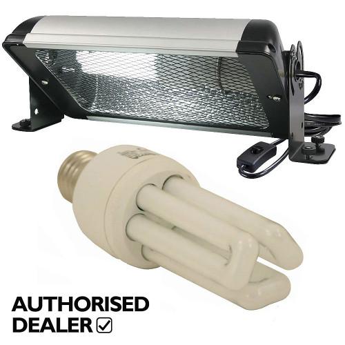 Arcadia Compact UV Deluxe Bird Lighting Kit - Lamp & Holder
