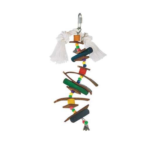 Junglewood Skewer Chewable Parrot Toy - Small