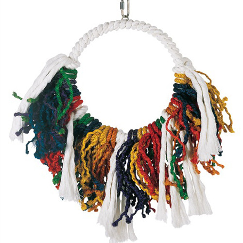 Junglewood Dream Catcher Parrot Toy and Swing