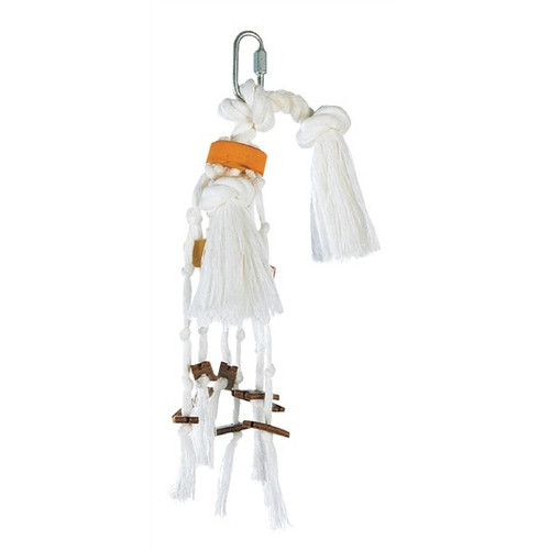 Junglewood Rope Parrot Toy - Small