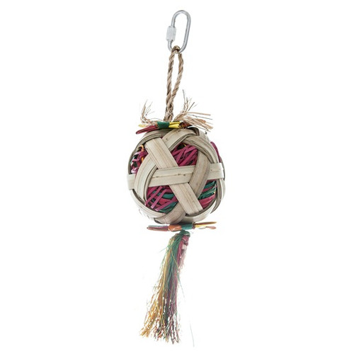 Rustic Treasures Natural Foraging Satellite Parrot Toy