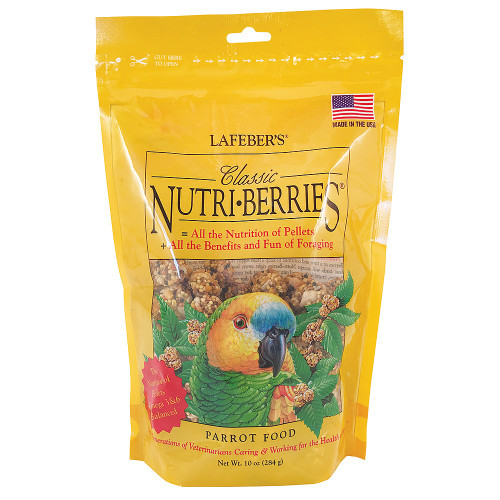 Lafeber NutriBerries Original Complete Parrot Food