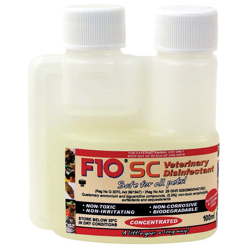 F10 SC Super Concentrate Disinfectant - 2 sizes